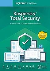 Kaspersky Total Security 2019 | 5 Geräte | 1 Jahr | Aktivierungscode I Download I E-Mail