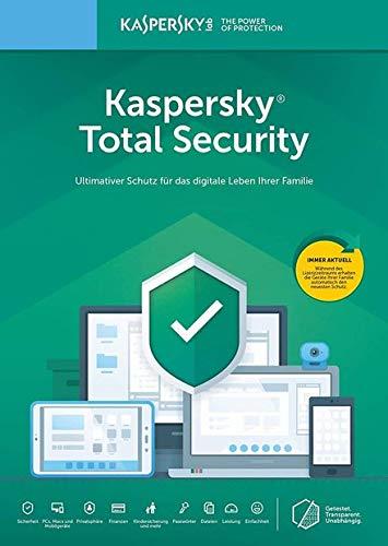 Kaspersky Total Security 2019 | 5 Geräte | 2 Jahre I Download I E-Mail