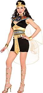 Amscan Internacionales adultos traje de belleza Cleopatra (UK 10-12)