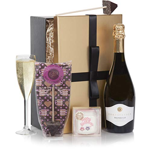 Happy Birthday Hamper - Prosecco Wine Birthday Gift Hamper - Birthday Hampers Gift Box Range - Gift Baskets For Her
