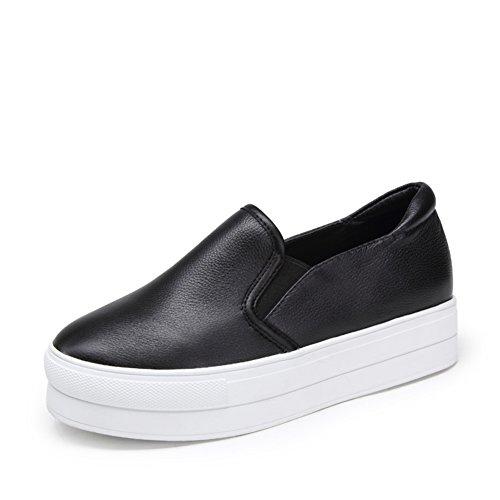 Chaussures de sport féminin/Le Fu, chaussures à semelles épaisses/Chaussures de Joker cintrées A