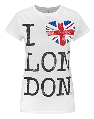 Official I Love London Women's T-Shirt (M) for sale  Delivered anywhere in Ireland