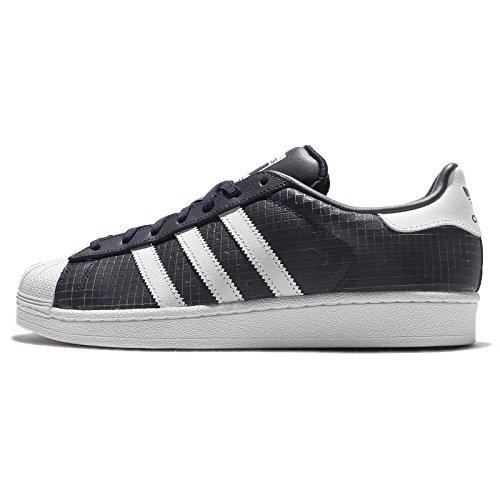 adidas Superstar, Baskets Basses Homme Blu (Conavy/Ftwwht/Conavy)