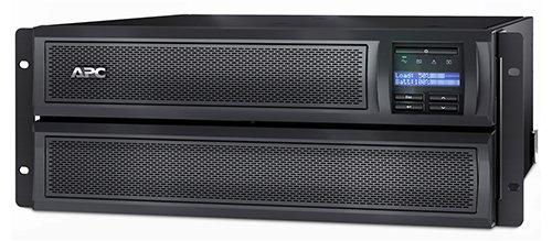 APC SMX3000HV Smart-UPS X 3000VA 4U Rack/Tower Netzteil (LCD, 200-240V, 2700 Watt, 230V, 5% THD, SmartSlot) -