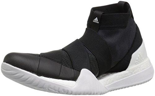 adidas Women\'s Pureboost X TR 3.0 LL Cross Trainer, core Black/Crystal White/Carbon, 6.5 M US