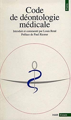 Code de déontologie médicale par Louis Rene (ed.)