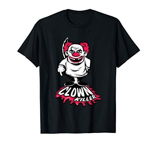 Horror Killer Clown TShirt - Geschenk Männer Frauen Kostüm T-Shirt