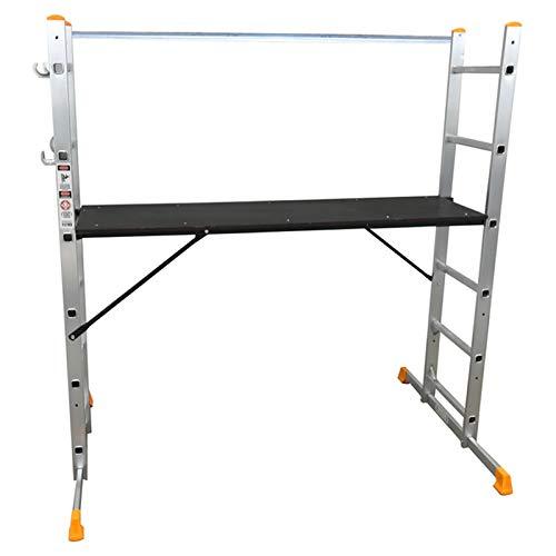 Abbey 5 Way Multi Purpose Platform and Scaffold Combination Ladder
