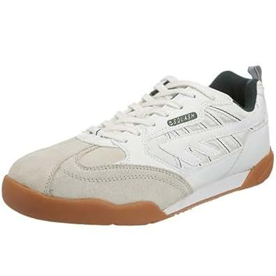 Hi-Tec  Squash Classic,  Chaussures tennis mixte adulte - Blanc (Blanc / Vert), 35.5 EU