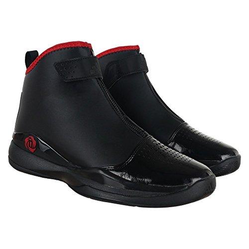 Adidas D Rose 773 Lux, Noir / Scarle Rouge / blanc, 9,5 M Us