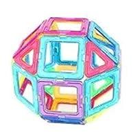 48Pcs Magnetic Building Blocks Toys Educational Magnetic Tiles Set for Boys/Girls, Stacking Blocks for Toddler/Kids - All of Them are Strong Magnet