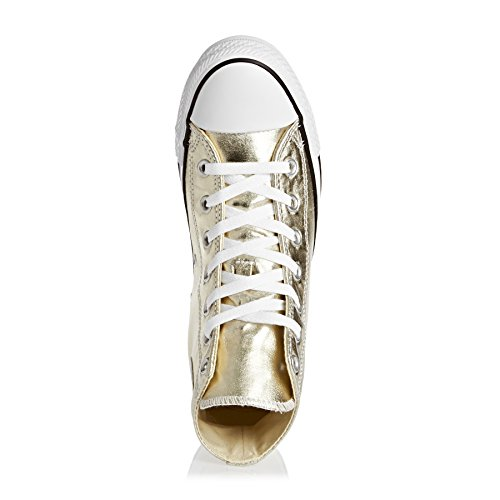 Converse Ctas Hi, Sneakers Femme Or (Light Gold/white/black)