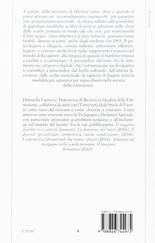 DSA e fruibilità dei libri di testo nella scuola primaria (Scienze dell'educazione) - 9788846744975