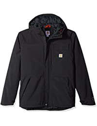 Carhartt Men Size Big Insulated Shoreline Jacket, Black, 2X-Large/Tall