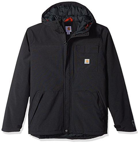 Carhartt Men's Size Big & Tall Insulated Shoreline Jacket, Black, Large (Carhartt Mantel Hoch)