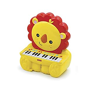 Fisher-Price- Piano León, Juguete Musical +2 años (Reig KFP2516) (Kids Station Toys