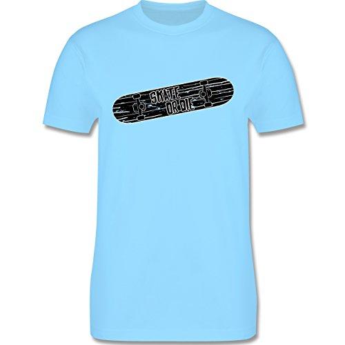 Sonstige Sportarten - Skate or Die - Herren Premium T-Shirt Hellblau