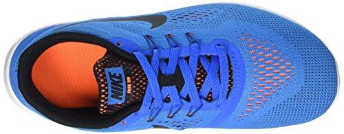 Nike Free Run, Scarpe da Corsa Bambino Blu (Photo Blue/Black-Ttl Orng-Wht)