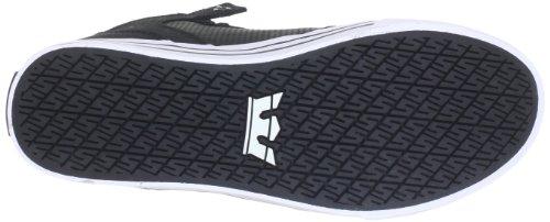 Supra VAIDER, Unisex-Erwachsene Hohe Sneakers Schwarz (BLACK - WHITE BKW)