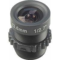ansice CCTV Objektiv M123,6mm Brett-Objektiv Weitwinkel 90Grad für Sicherheit CCTV-Kamera