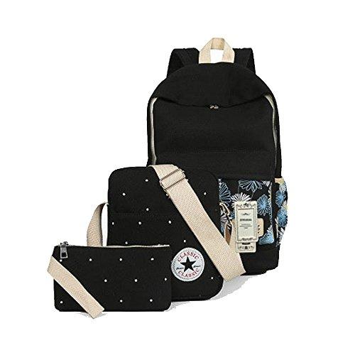 zuniyamama-fashion-lightweight-3-set-canvas-backpack-shoulder-bag-pencil-case-walletfor-teen-girls-b