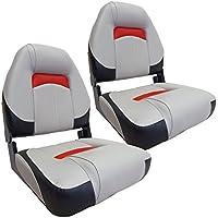 Waterside2er Set Luxus High Back Bootssitz (Boat Seat) Comfort Plus