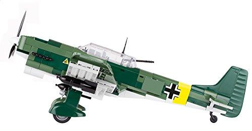 Modbrix 5521- ✠ Bausteine STUKA Flugzeug Junkers Ju 87 B inkl. Luftwaffen Pilot aus original Lego® Teilen ✠ - 4
