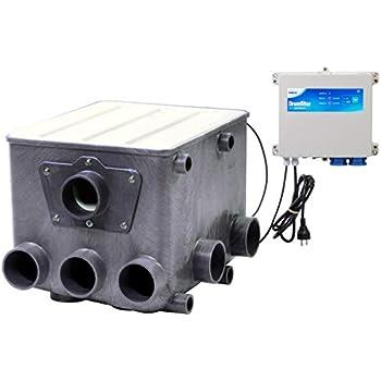 gepumpt Trommelfilter 50m³ incl.Amalgam UVC automatischer Vorfilter Calictus