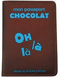 Caroline Lisfranc - Porte-passeport oh la la Chocolat