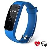 Fitness Tracker Aneken Sport Uhr mit Schrittzähler, Herzfrequenz, Pulsmesser,...