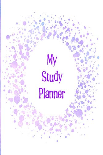 My Study Planner: Perfectly plan out your study and revision schedule for your exams tests, and general school and college life with a Blue and purple cloud design