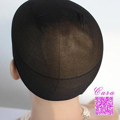 OOFAY JF® 2pcs nero unisex tappi parrucca elastici per la