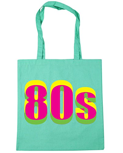 80s Neon Tote Shopping Bag - Big Choice of Colours