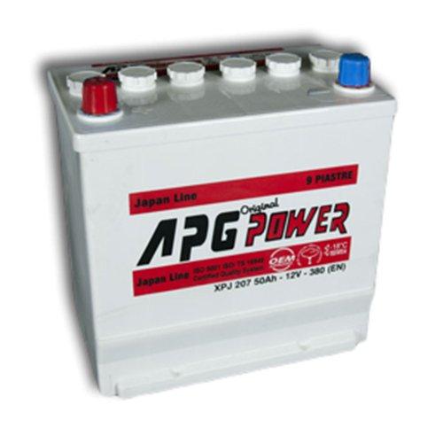 APG XPJ207L ORIGINAL JAPAN LINE - Batteria auto, 50Ah