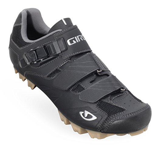 Giro Privateer–Scarpe da ciclismo di montagna per uomo con fibbia con chiusura di sicurezza) nero