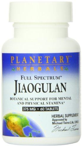 Full Spectrum Jiaogulan, 375 mg, 60 comprimidos - Hierbas planetarios