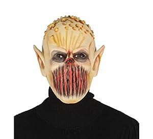 Guirca grafoplas SL. , máscara Monstruo Que ES ajeno Horror del Miedo, Color Amarillo y Rojo, 2672