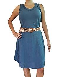 bonzaai robe hippie chic robe bohème tee shirt femme Ausgeglichen