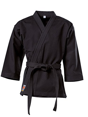 "KWON Karate Jacke ""Traditional"", 12Oz, Schwarz Kwon 190 cm"