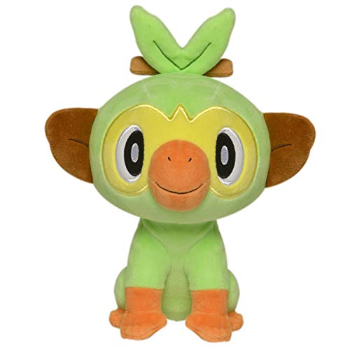 "Pokemon 98056 POKÉMON 8"" Plush-GROOKEY, Nocolor"