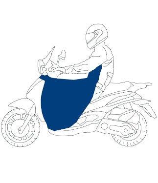 OJ Pro Bein Nylon Wasserdicht Roller Bein Cover-Typ 15-PIAGGIO MP3YOURBAN