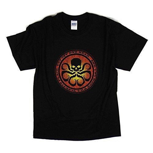 AGENTS OF S.H.I.E.L.D. T-Shirt Ispirata - HYDRA - Misure S - 5XL disponibile - Nero, Small