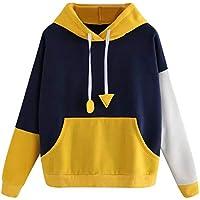 Damen Sweatshirt,Geili Frauen Hoodie Sweatshirt Langarm Pullover mit Kapuze Pullover Tops Bluse Damen Große Größe... preisvergleich bei billige-tabletten.eu