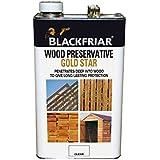 Blackfriar BKFGSWPCL5L 5 Litre Gold Star Wood Preservative - Clear