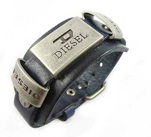 Un regalo perfecto Vintage Punk Cowhide aleación pulsera de la joyería pulsera de los hombres pulsera brazalete pulsera