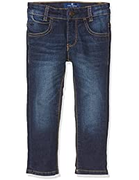 TOM TAILOR Kids Boy's Blue Washed Stretch Denim Matt Jeans