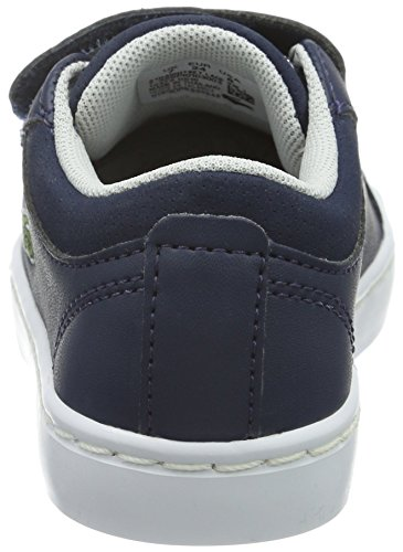 LacosteStraightset Lace 316 1 - Scarpe da Ginnastica Basse Unisex – Bambini Blu (Blau (NVY 003))