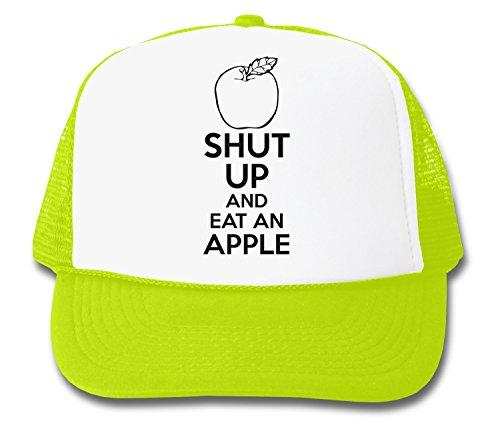 ShutUp and Eat an Apple Trucker Cap