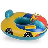 Baby Babyboot Schwimmring Schwimmsitz Schwimmhilfe Gelb Auto
