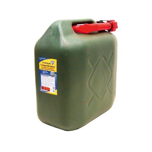 Preisvergleich Produktbild Kraftstoffkanister 20 Liter, PVC oliv, UN-Zulassung
